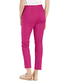 Petite Stretch Twill Cropped Pants, Created for Macy's