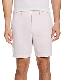Men's Slim-Fit 8'' Inseam Oxford Shorts