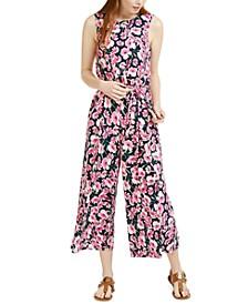 Floral-Print Jumpsuit