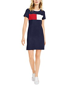 Colorblocked T-Shirt Dress