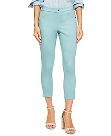Women's Classic Smooth Denim Capris