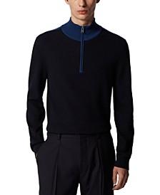BOSS Men's Oneto Dark Blue Sweater