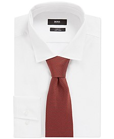 BOSS Men's Bright Orange T-Tie
