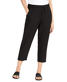 Easy Organic Cropped Pants, Regular & Petite