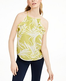 Printed Ruffled Top, Created for Macy's