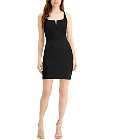 Split-Neck Bodycon Dress, Created for Macy's
