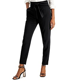 High-Waist Tie-Front Pants, Created for Macy's