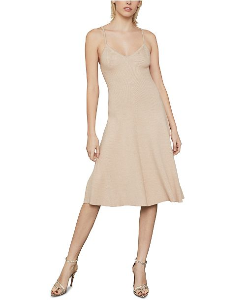 BCBGMAXAZRIA Knit A-Line Midi Dress