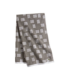 "Lacoste Raster Cotton 30"" x 54"" Bath Towel"