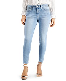 The Icon Mid-Rise Skinny Crop Jeans