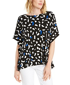 Printed Dolman-Sleeve Top, Created for Macy's