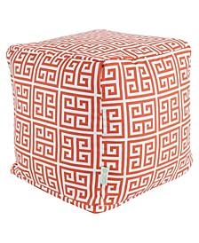 "Towers Ottoman Pouf Cube 17"" x 17"""