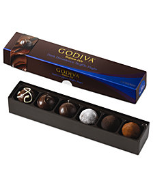 Godiva Chocolatier, 6-Piece Dark Decadence Truffle Flight