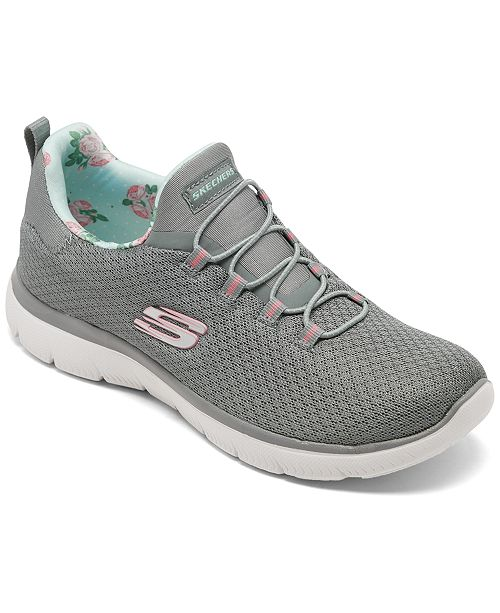 Skechers Women's Summits Wide Width Walking Sneakers from Finish Line