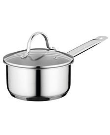 Comfort Stainless Steel 1.7-Qt. Covered Saucepan