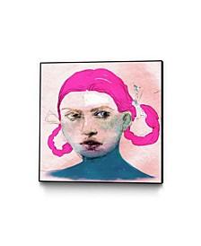 "Arassay Hilario Candy Art Block Framed Canvas 24"" x 24"""