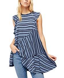 Between The Lines Tunic Top