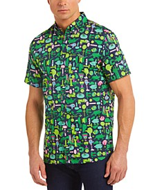 Men's Croco Series Jeremyville® Graphic Printed Short Sleeve Shirt