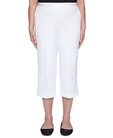 Petite Ship Shape Cropped Pull-On Pants