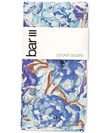 Men's Colfax Floral Pocket Square, Created for Macy's