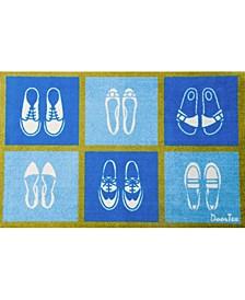 Doortex Short Indoor Entrance Runner Mat Shoes Design