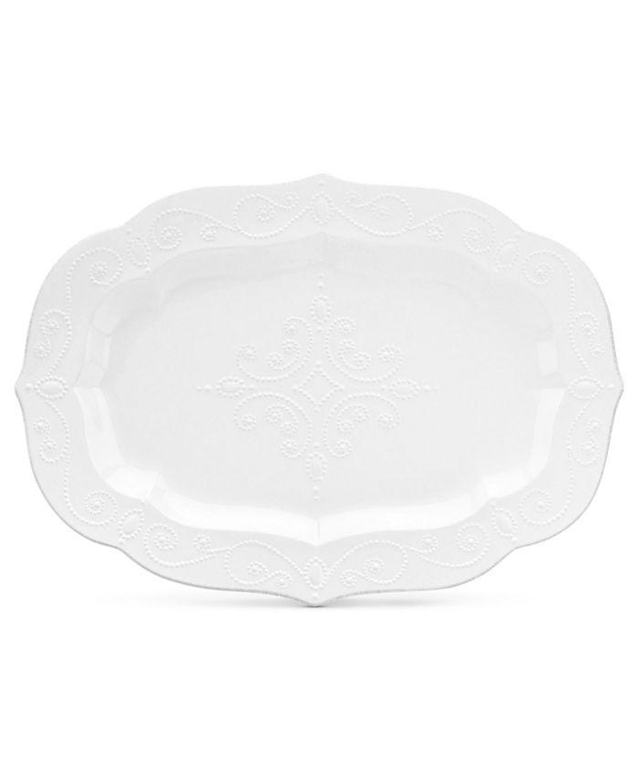 Lenox - French Perle White Large Platter