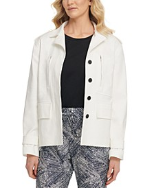 Collared Utility Jacket