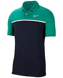 Men's Victory Dri-FIT Colorblocked Golf Polo