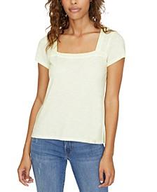 Lou Square-Neck T-Shirt