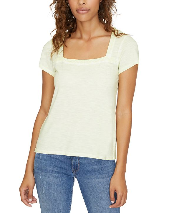 Sanctuary Lou Square-Neck T-Shirt