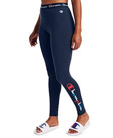 Champion Women's Authentic Double Dry Logo Leggings