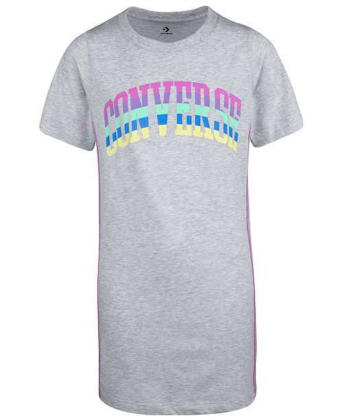 Converse Big Girls Logo Jersey T-Shirt Dress