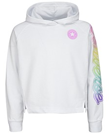 Big Girls Pullover Logo-Graphic Hoodie