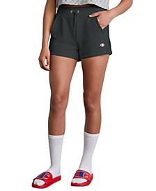 Women's Reverse Weave High-Waist Shorts