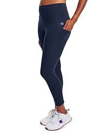 Women's Double Dry Pocket Compression High-Waist Leggings