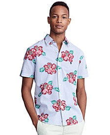 Men's Big & Tall Classic-Fit Seersucker Shirt