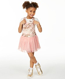 Little Girls Camo Skirtalls, Created for Macy's