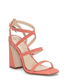 Raymie Flare Heel Sandals