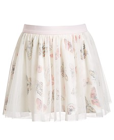 Little Girls Butterfly Tulle Skirt, Created for Macy's