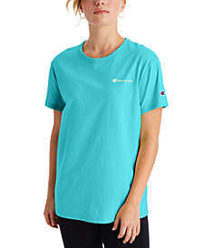 Champion Women's Cotton Logo Boyfriend T-Shirt
