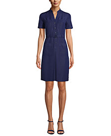 Anne Klein Pocket Shirt Dress