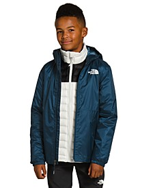 Big and Little Boys Zipline Water-Repellent Windbreaker