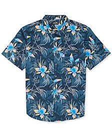Big Boys Sunday Florals Short-Sleeve Shirt