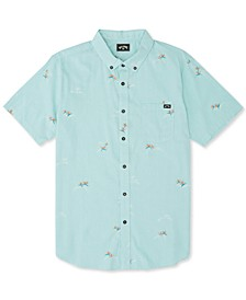 Big Boys Sundays Mini Short-Sleeve Shirt