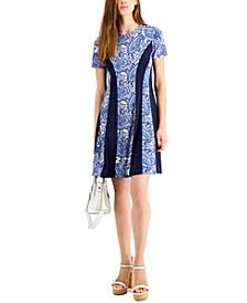 Paisley Dress, Regular & Petite Sizes