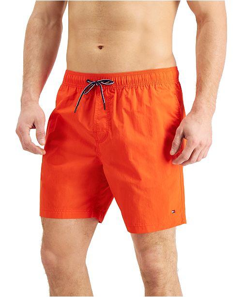 Tommy Hilfiger Men's Solid Swim Trunks