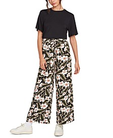 Coco Printed Soft Pants