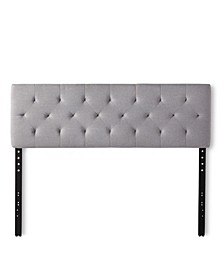 Diamond Tufted Mid Rise Headboard, Queen