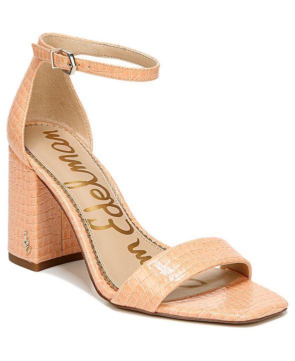 Sam Edelman Daniella Two-Piece Block-Heel Sandals