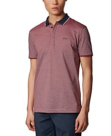 BOSS Men's Paddy 2 Cotton-Piqué Polo Shirt